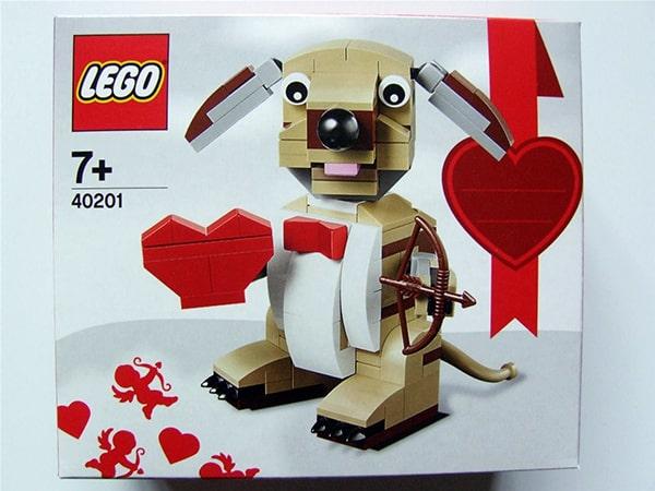 Lego Valentinshund