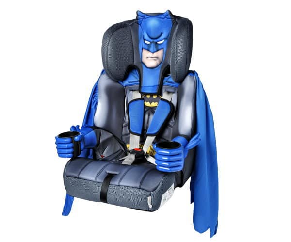 """Batman-Kindersitz von KidsEmbrace - cool, aber leider nur """"mangelhaft"""" (©ADAC)"""