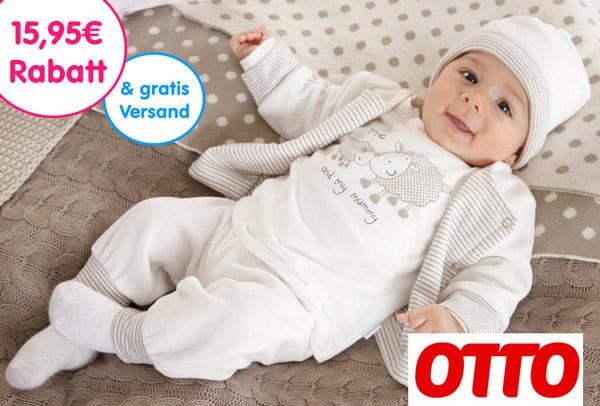 Otto Gutschein 15€ Rabatt und gratis Versand 5,95€ = 20,95€ sparen für Erstbesteller