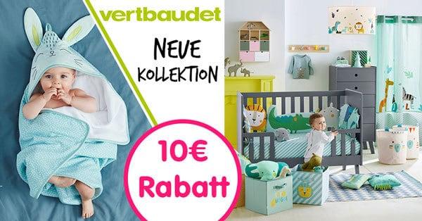 Vertbaudet: Neue Kollektion & 10€ Rabatt für alle