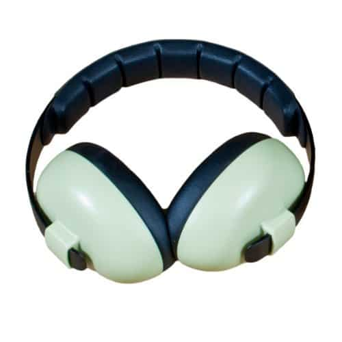 BabyBanz Baby-Gehörschutz, 0-2 Jahre, mit extra weichem Kopfbügel