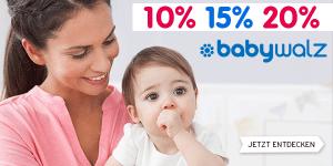 Baby-Walz Gutschein 2017: 10€ Gutscheincode + bis 70% Rabatt