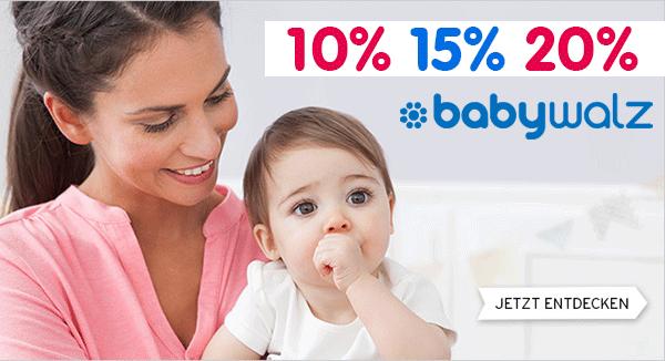 Baby-Walz Gutschein 2017 und alle aktuellen Rabatte