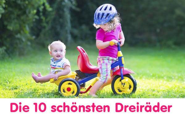 Die 10 schönsten Dreiräder für Babys und Kleinkinder (© thinkstock)