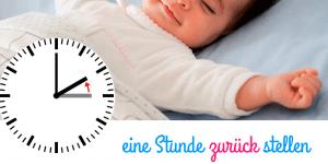 Sommerzeit 2018: wie man Babys und Kleinkinder am besten an die Zeitumstellung gewöhnt