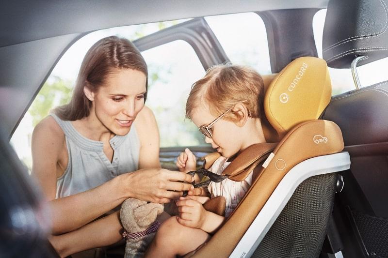 Kindersitze nach neuem Sicherheitsstandard i-size (Foto: © Concord)