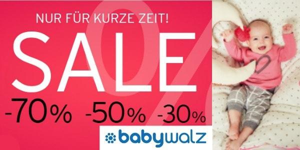 Baby-Walz Gutschein 2016 und alle aktuellen Rabatte