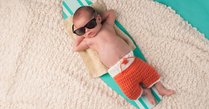 Abkühlung   Die Besten Tipps Für Baby Und Kleinkinder Bei Hitze (©  Thinkstock)