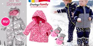 Ernsting's family: neue Schneeanzüge und Wintersachen für Babys und Kleinkinder