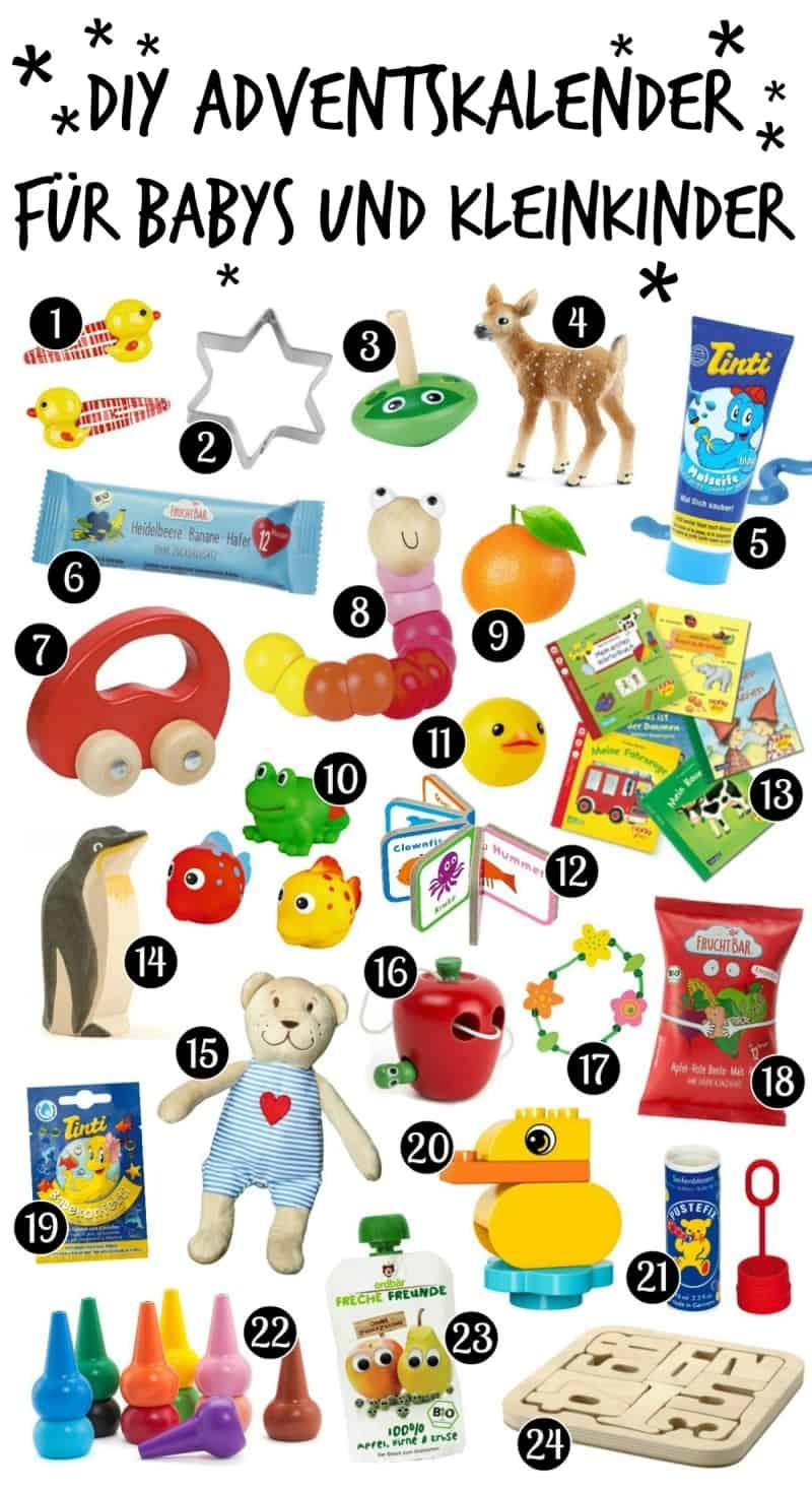 Weihnachtskalender Für Kinder Basteln.Diy Adventskalender Für Babys Und Kleinkinder Selber Machen