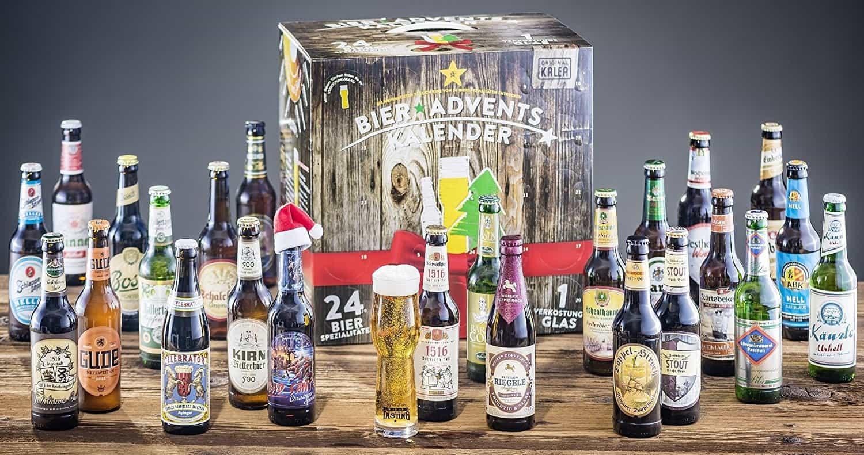 Adventskalender Bier