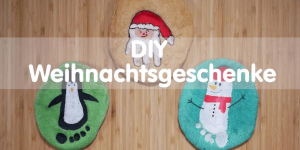 Weihnachtsgeschenke Basteln.Diy Weihnachtsgeschenke Basteln Mit Kindern Salzteigbilder
