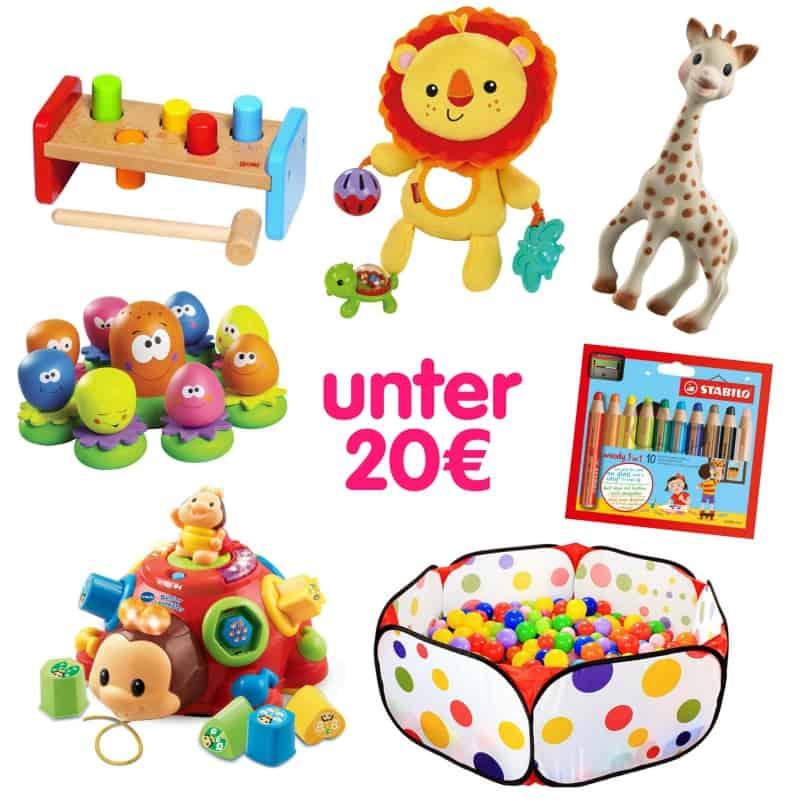 Geschenke für Babys unter 20€