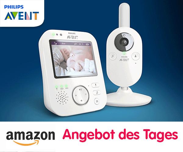 Schnäppchenknaller: Philips AVENT Video-Babyphone im Tagesangebot
