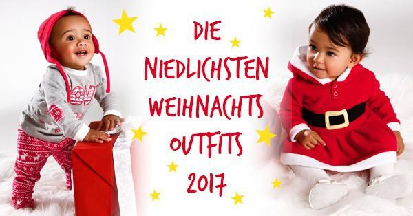Die niedlichsten Weihnachtsoutfits und Kostüme für Babys und Kleinkinder