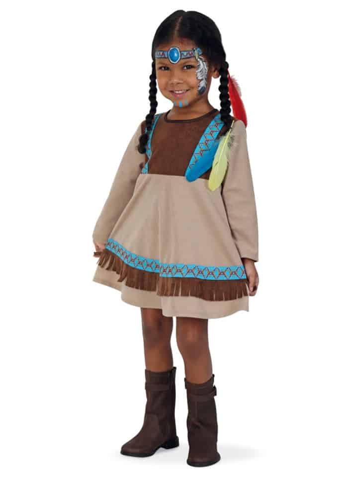 kostuemkleid-indianer-in-beige-braun