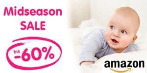Amazon Midseason Sale: Kindersachen für Herbst und Winter bis -60% Rabatt reduziert