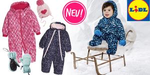 Lidl: Neue Wintersachen und Schneeanzüge günstig für 11,99€