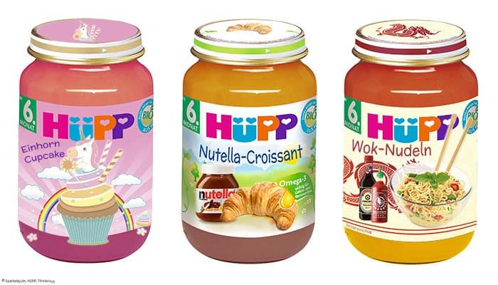 Drei neue Trendsorten HüPP Babynahrung sorgen für Geschmackserlebnisse (© Sparbaby/HüPP/Thinkstock)