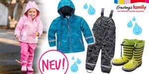 Ernsting's: neue Regensachen + 30% extra auf alle Sale-Artikel