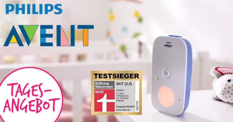 Schnäppchen! Philips AVENT Babyphone heute zum Knallerpreis