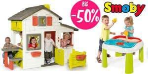 SALE: Smoby Outdoorspielzeug bis -50% reduziert