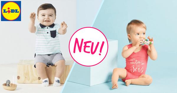 LIDL: Viele neue Babysachen ab Größe 62!