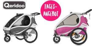 Tagesangebot: Qeridoo Fahrradanhänger zum günstigen Preis