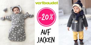 Vertbaudet: -20% Rabatt auf Jacken und Winteroveralls