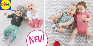 LIDL: Viele neue Baby- und Kindersachen