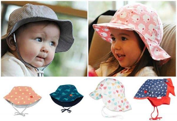 Sonnenhüte für Babys und Kinder mit UV-Schutz