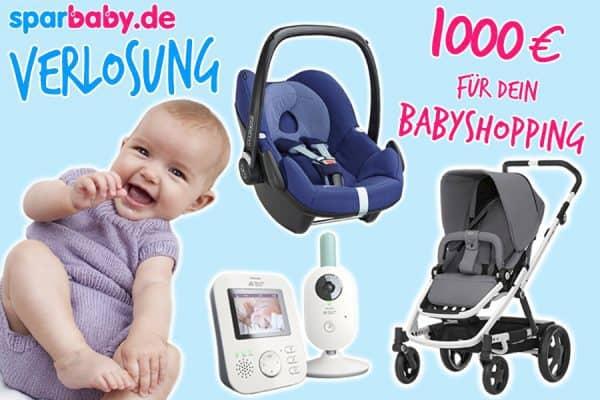 Sparbaby Baby-Shoppingverlosung