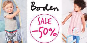 Boden: -50% Rabatt im End of Season SALE