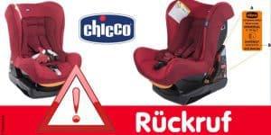Rückruf: Chicco ruft Cosmo Auto-Kindersitz zurück