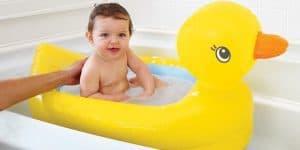 Abkühlung zu Hause: Die Bade-Ente für die Wanne!