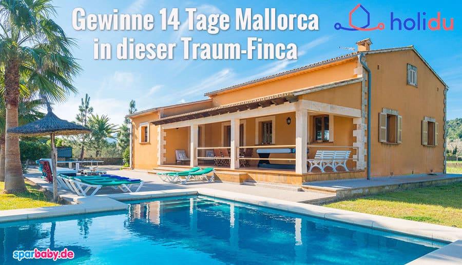 Verlosung: Gewinne 14 Tage Mallorca-Urlaub für deine Familie in einer wunderschönen Traumfinca