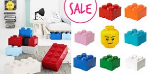 Schnäppchen: Lego-Aufbewahrungsboxen zum Superpreis!