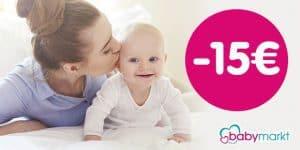 Babymarkt – Gutschein: Spare heute 15€ auf fast ALLES*
