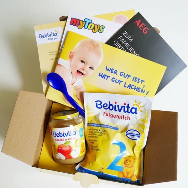 Bebivita Willkommenspaket inkl. Coupons und Produktproben