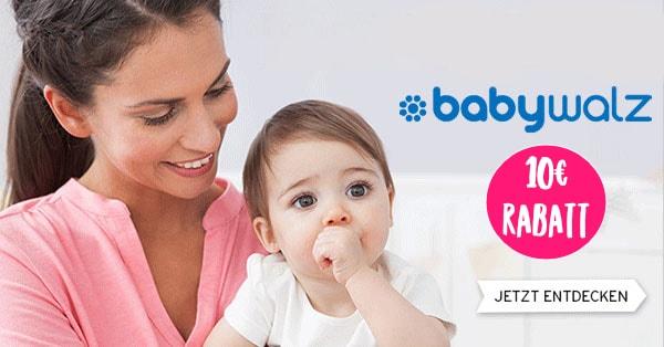 Babywalz: 10€ Rabatt auf alles!