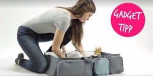 Tipp der Woche: Wickeltasche, Organizer und Wickeltisch für unterwegs