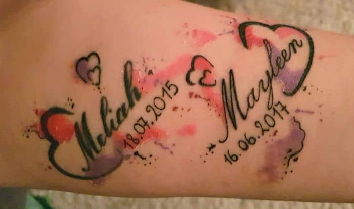 Tattoo frau mit kind 25 Tattoo