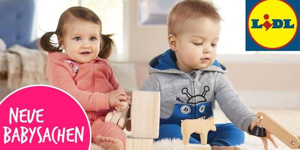 NEU bei LIDL: Viele süße Baby- und Kleinkindersachen + nur heute Versandkostenfrei