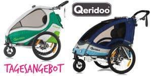 Tagesangebot: Qeridoo Fahrradanhänger zum besten Preis