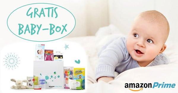 Amazon: limitierte GRATIS Baby-Box für Eltern im Wert von 30€ (nur noch wenige)