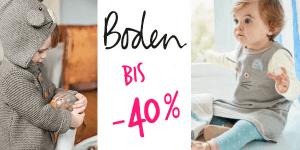 Boden Midseason-Sale gestartet: bis -40% Rabatt auf die süßesten Baby- und Kindersachen