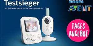 Schnäppchenknaller: Testsieger Philips AVENT Video-Babyphone im Tagesangebot