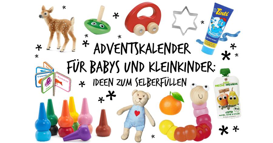 Adventskalender Füllen Ideen Kleinkinder.Diy Adventskalender Fur Babys Und Kleinkinder Selber Machen