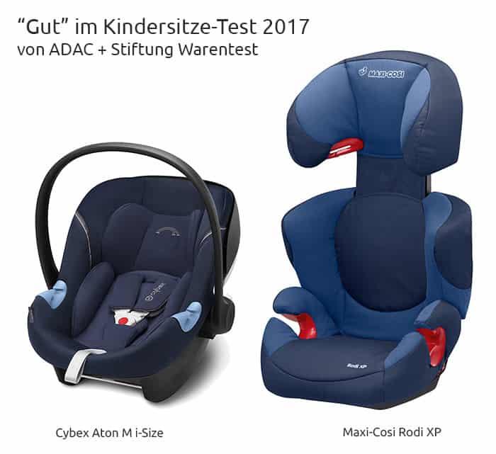Autokindersitze: im Test 2017 von Stiftung Warentest und ADAC