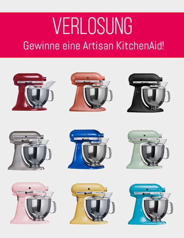 Anmelden und KitchenAid Artisan bei Limango gewinnen!